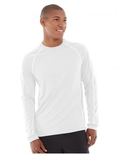 Deion Long-Sleeve EverCool™ Tee-S-White